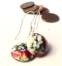 Famous Artists Pollock Penny Earrings