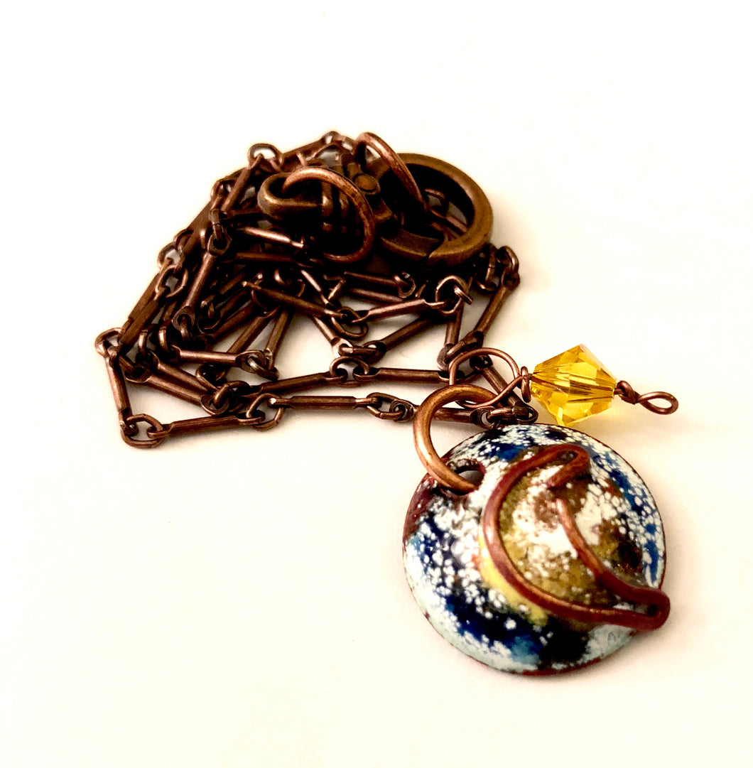 Famous Artists Van Gogh Penny Necklace
