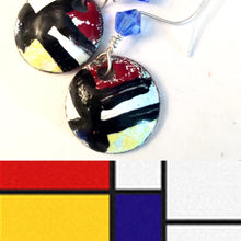 Famous Artists Mondrian Penny Necklace