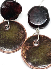 Falling Leaves Penny Earrings
