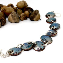 Autumn Blue Luster Bracelet