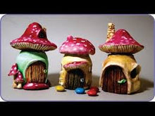 Create Your Own Mini Clay Fairy or Gnome House