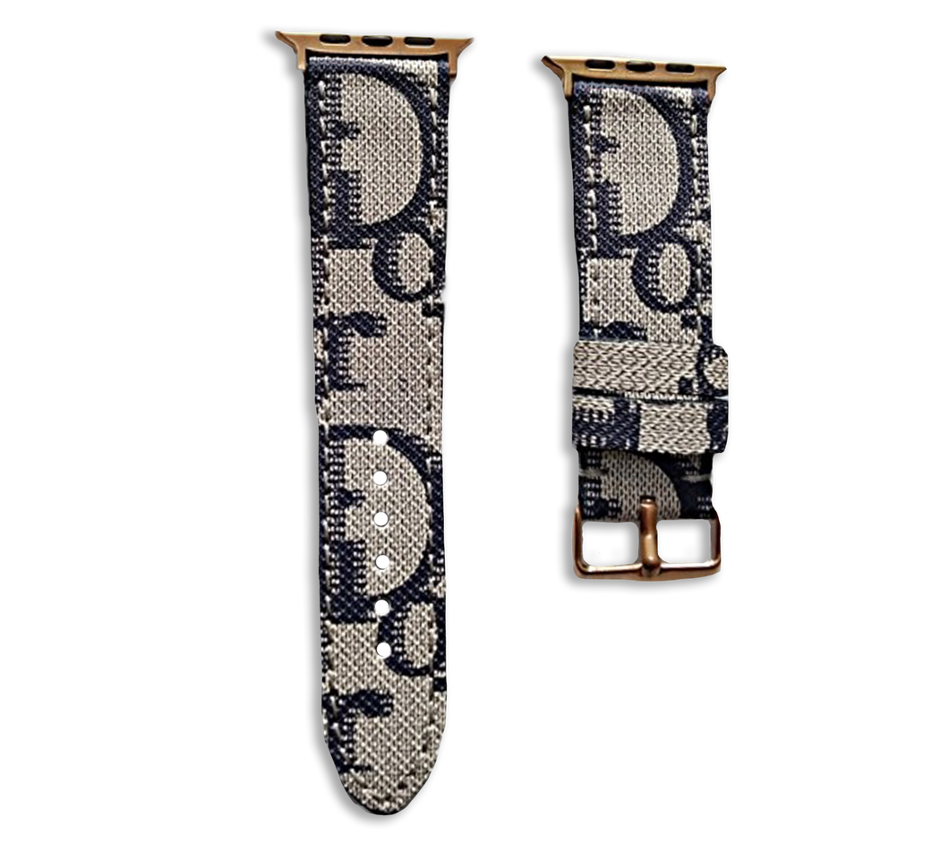 Dior Style Apple Watch Band Strap
