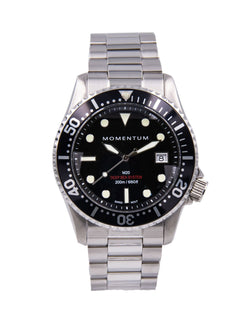 Momentum Watches M20 DSS Diver Black Dial