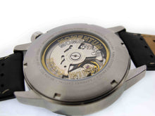Morioka Automatic Leather | Automatic Caseback | Engraving | Momentum Dress Watch