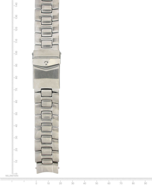 M1 & Twist Stainless Steel Bracelet - 18mm