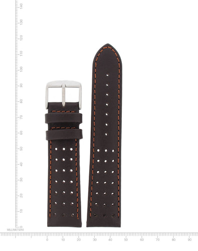 Perforated Leather - 22mm