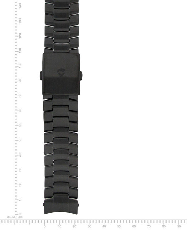 Black-Ion Stainless Steel Bracelet - 22mm