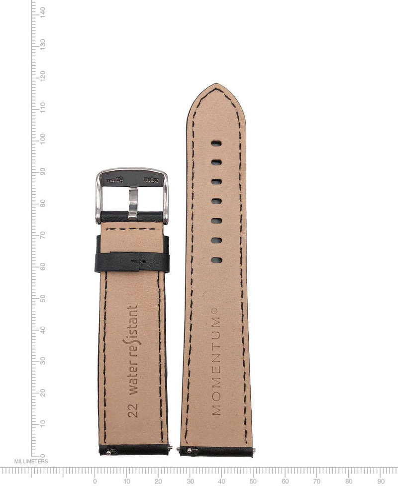Nappa Leather - 22mm -Quick Click - Momentum Watches US