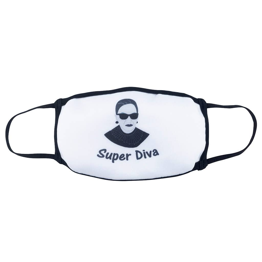 Super Diva RBG Face Mask