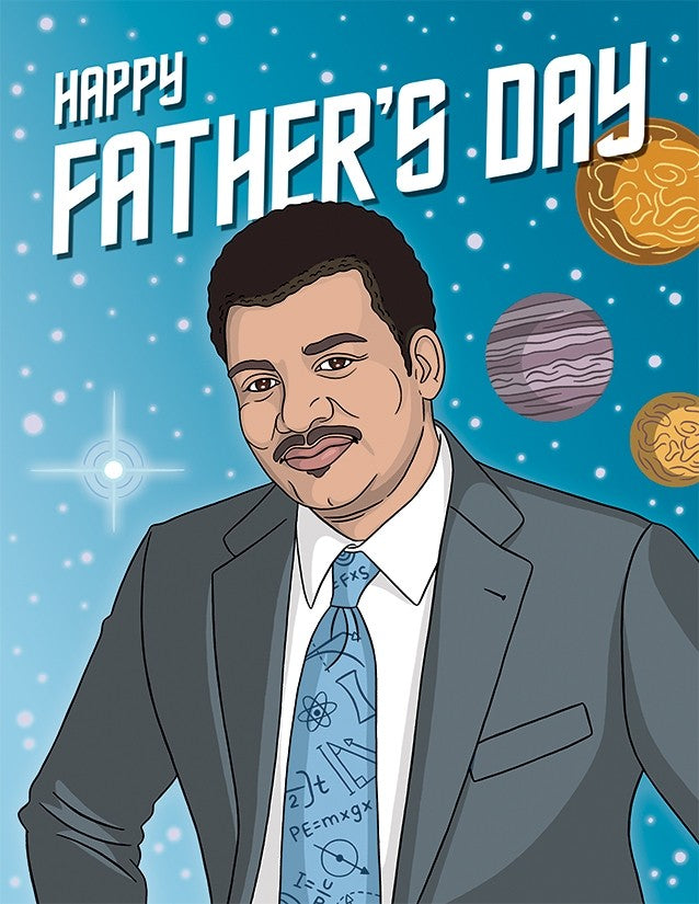 Neil deGrasse Tyson Card
