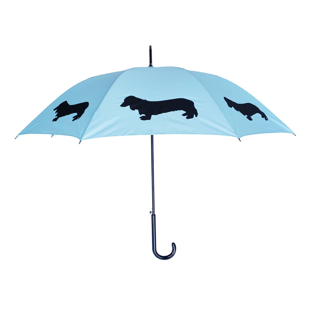 Dachshund Long-Haired Stick Umbrella