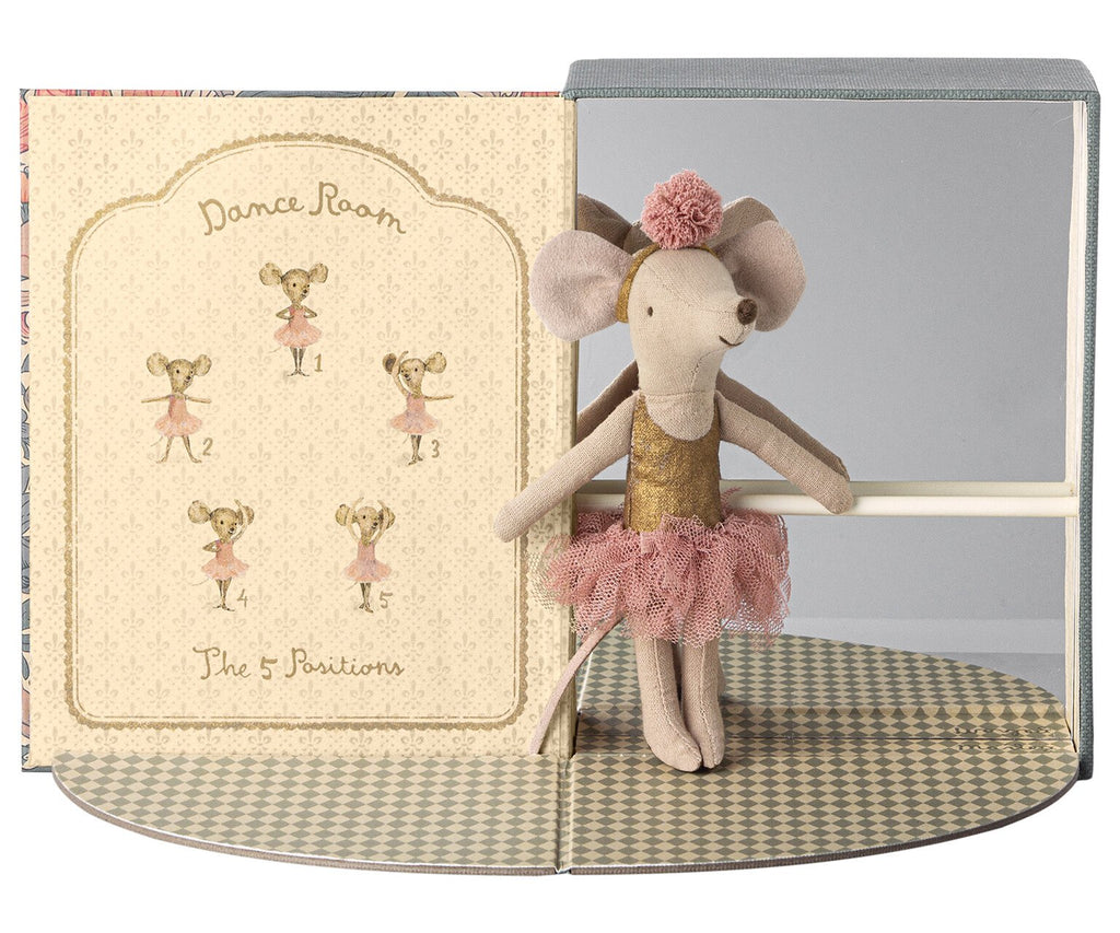 Dance Room with Big Sister Ballerina Mouse