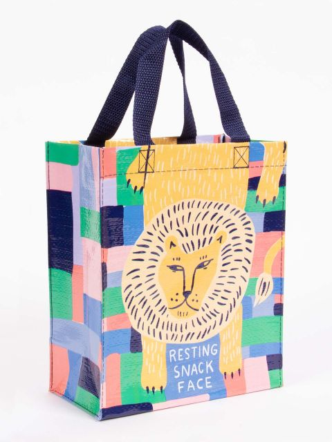 Restning Snack Face lunch tote