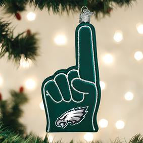 Eagles Fan Foam Finger Ornament