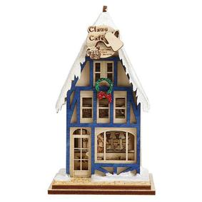 Claus Cafe' Coffee Shop Ornament PREORDER