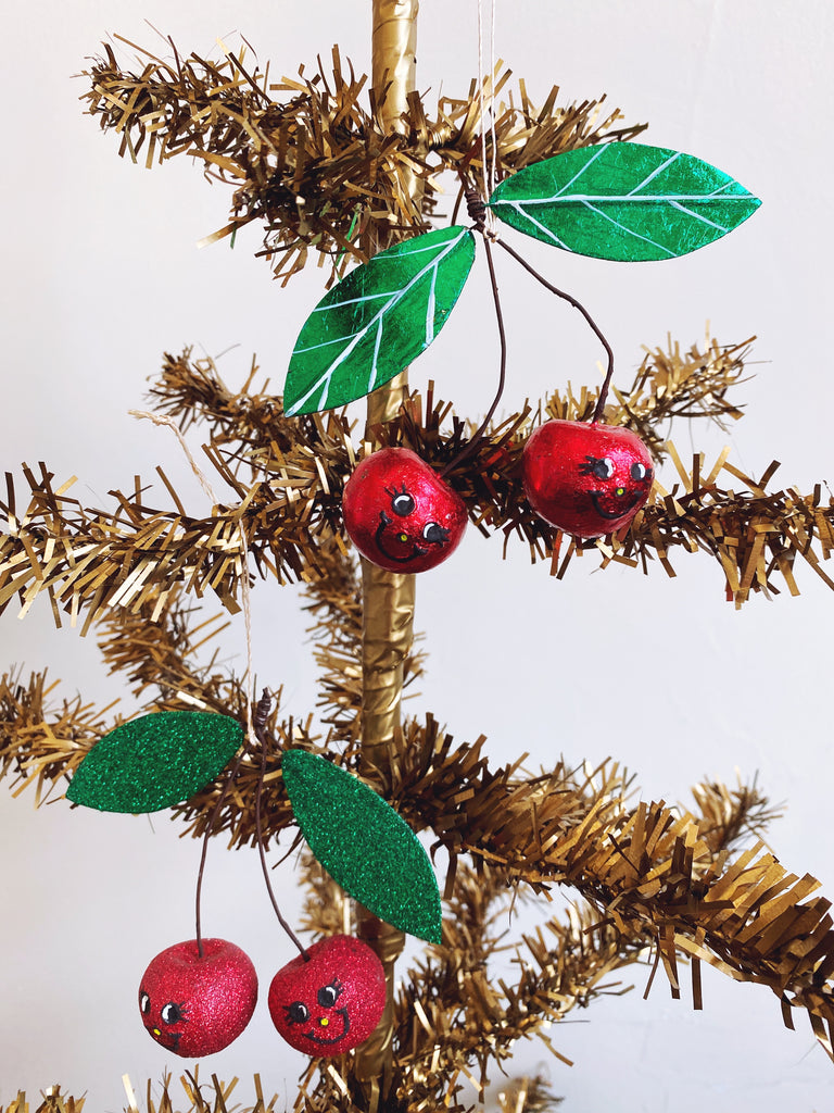 Cheery Cherry Ornament
