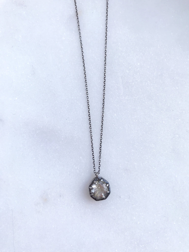 Large OCTAGON Necklace