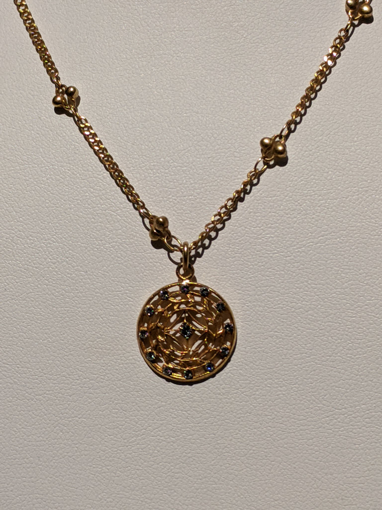 Small Medalion Necklace