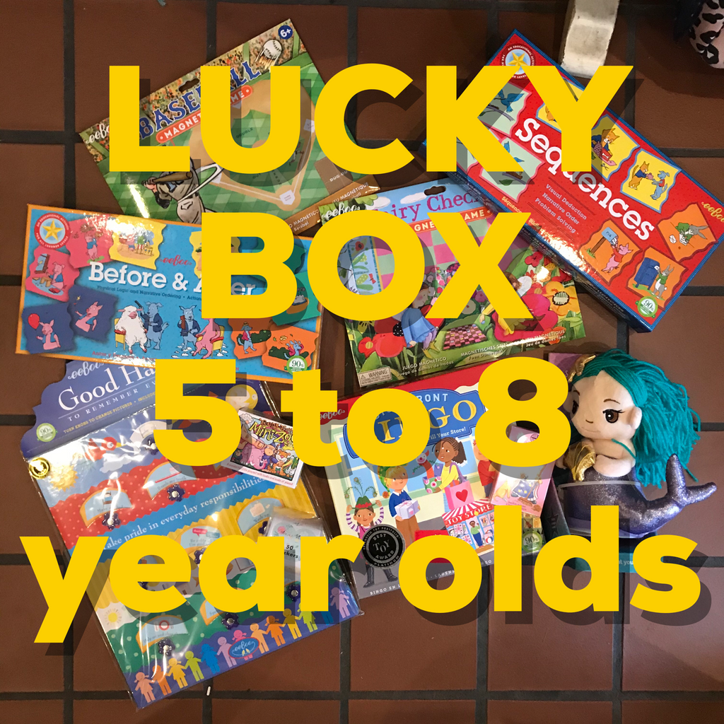 LUCKY BOX - Ages 5 to 8