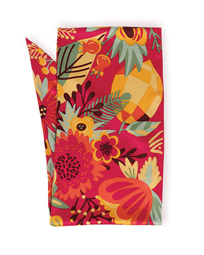 Tropical Print Neck Scarf