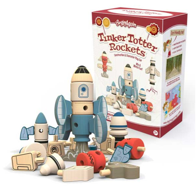 TINKER TOTTER ROCKETS CHARACTER SET