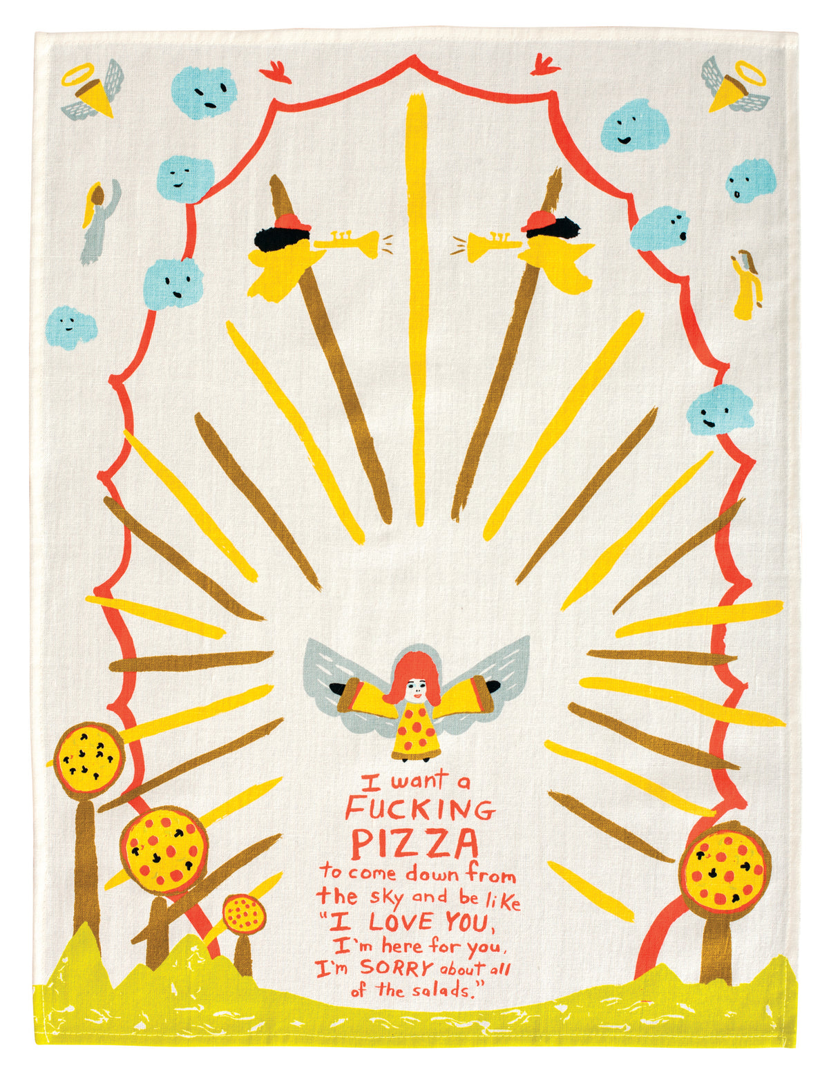 I want a pizza Towel