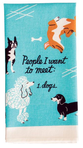 Dog Kitchen Towel