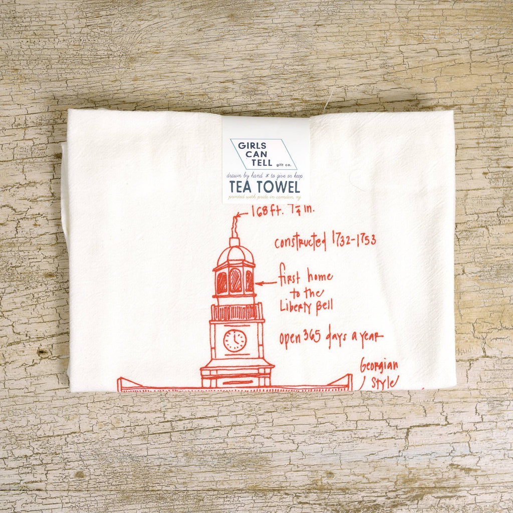 Independence Hall Tea Towel