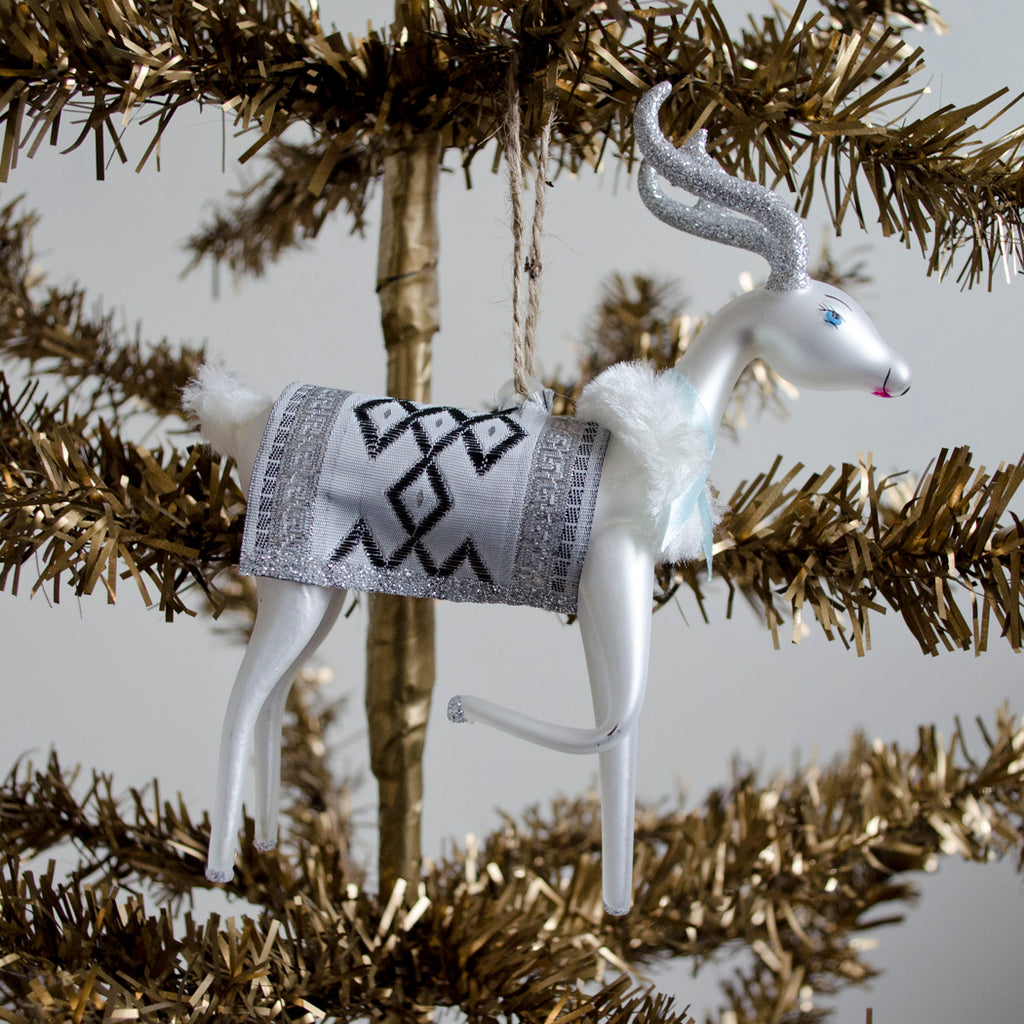 Winter Fawn Ornament