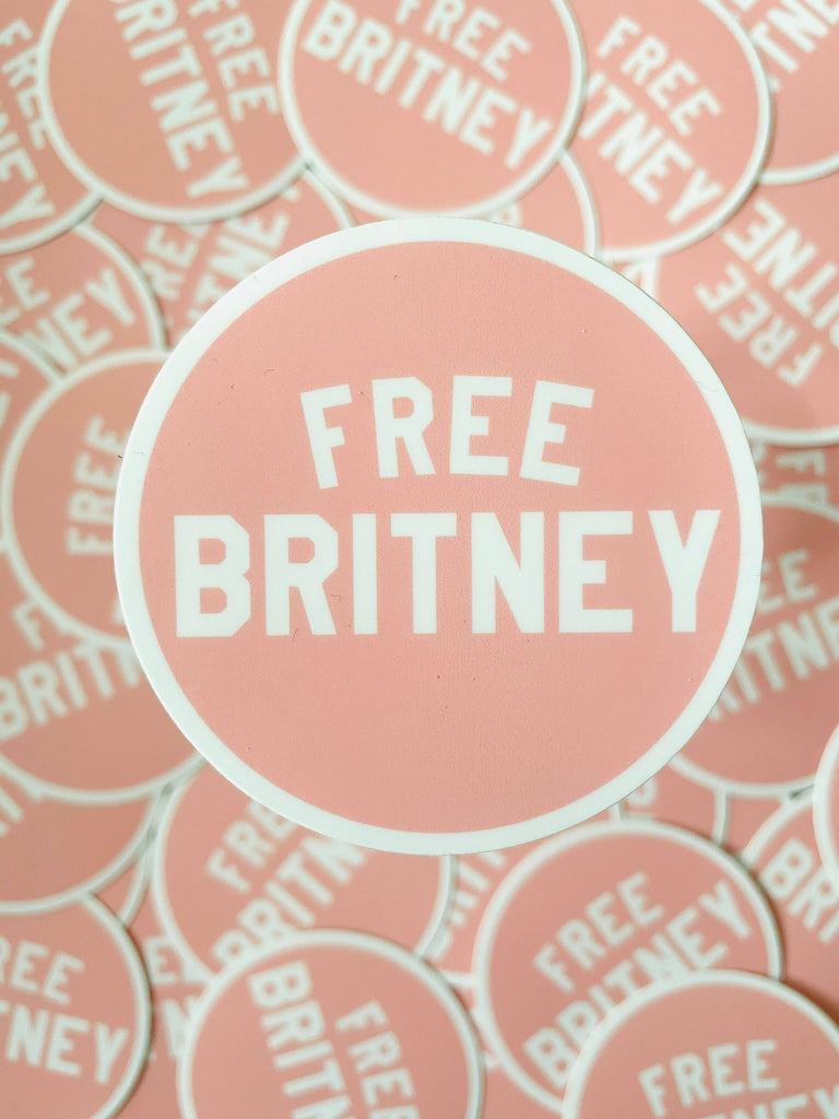 Free Britney Sticker