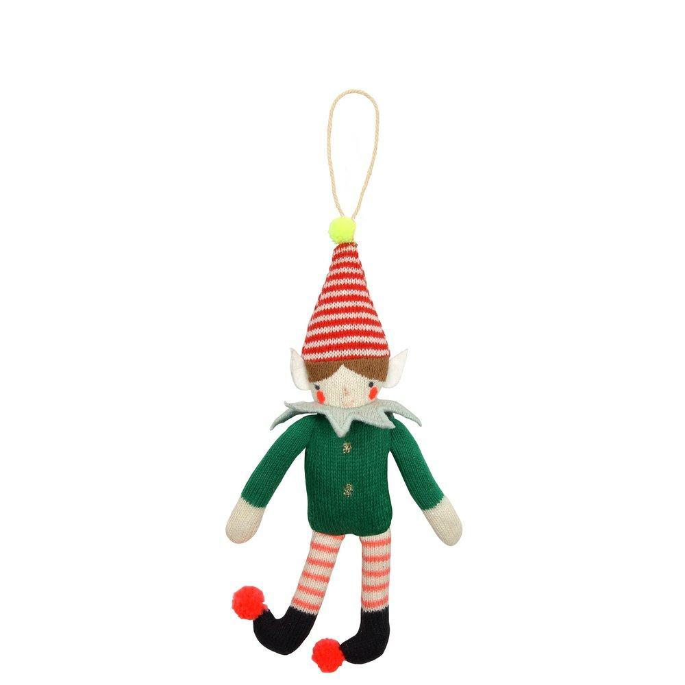 Smiling Elf Ornament