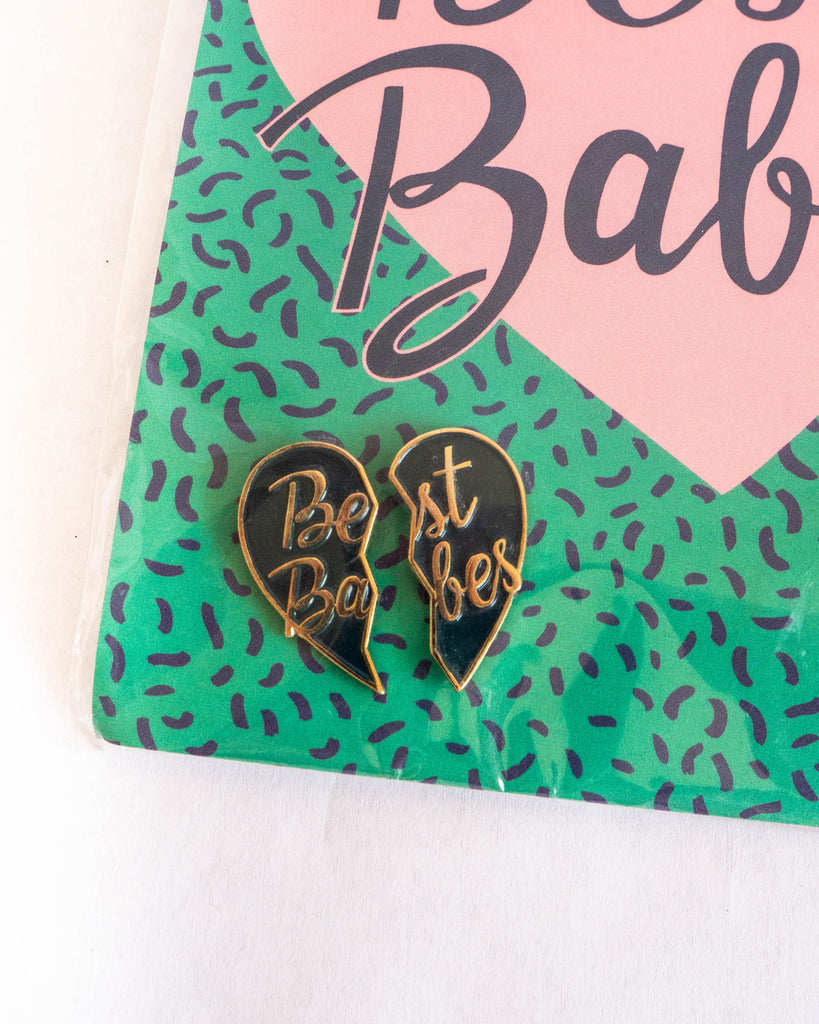 Best Babes Enamel Pin