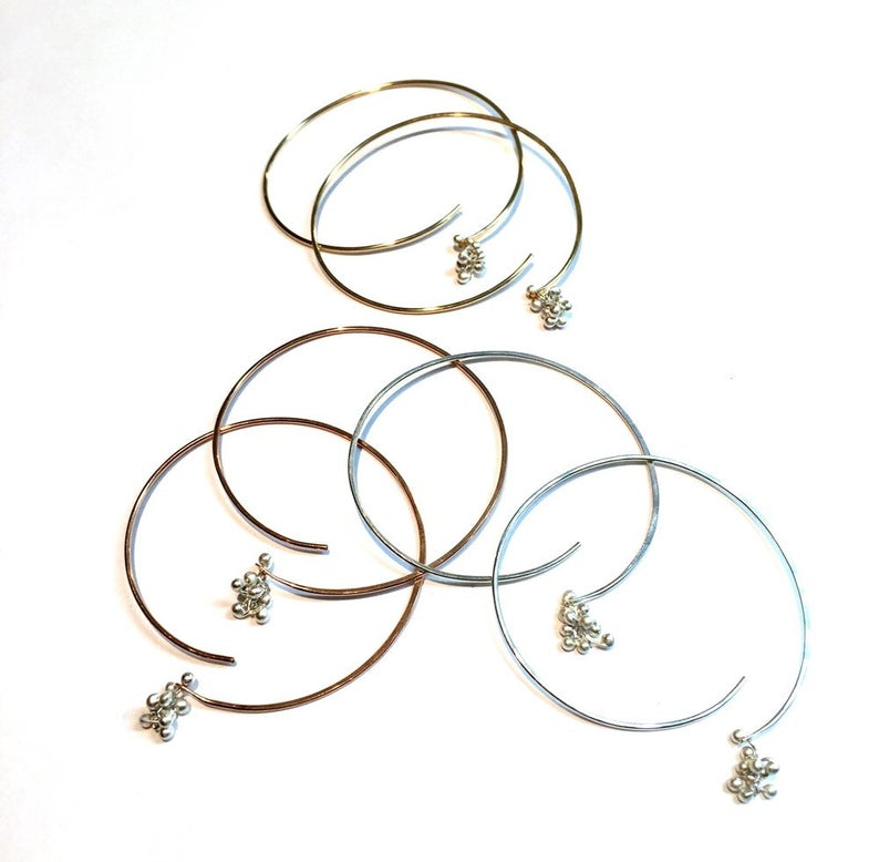 Medium Soft Hoop Earring