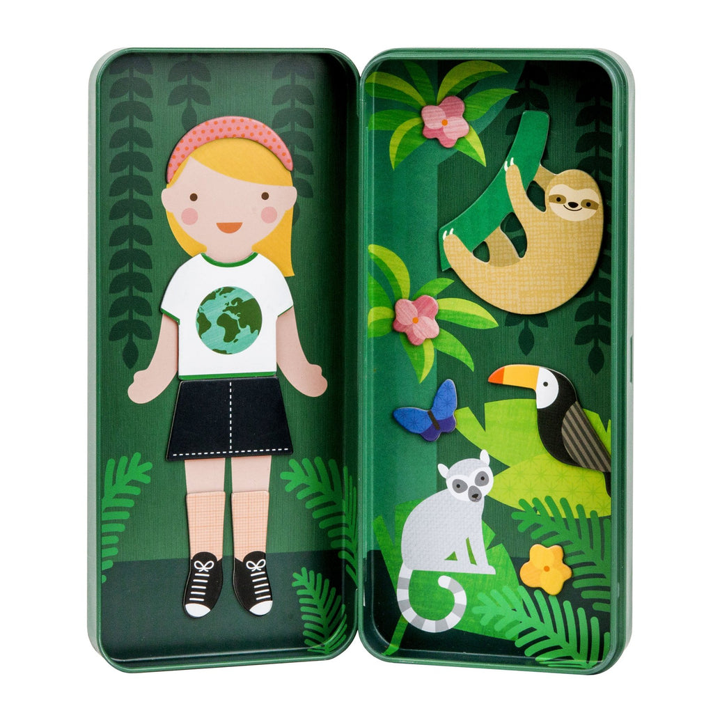 Safari Magnetic Doll