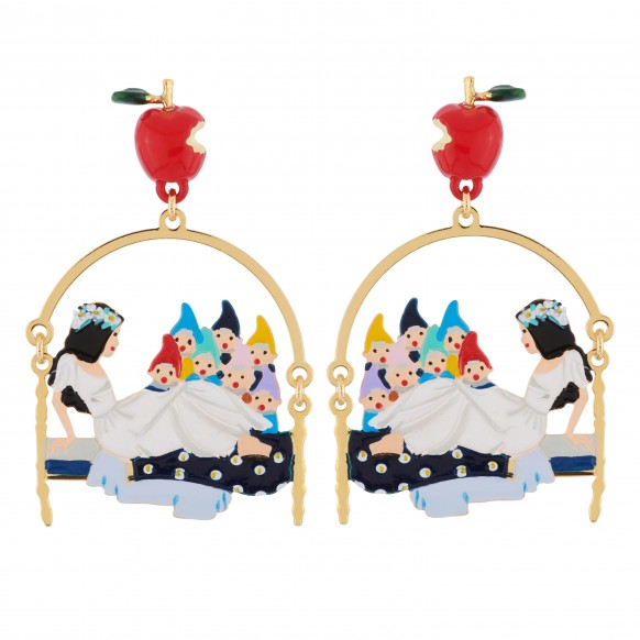 Snow White & 7 Dwarfs Earring