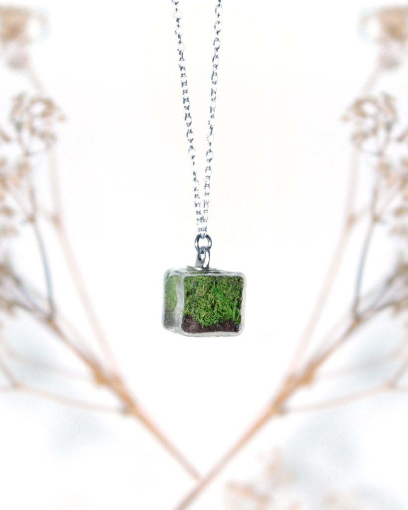 Terrarium Cube Necklace