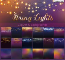Patio Lights Clipart