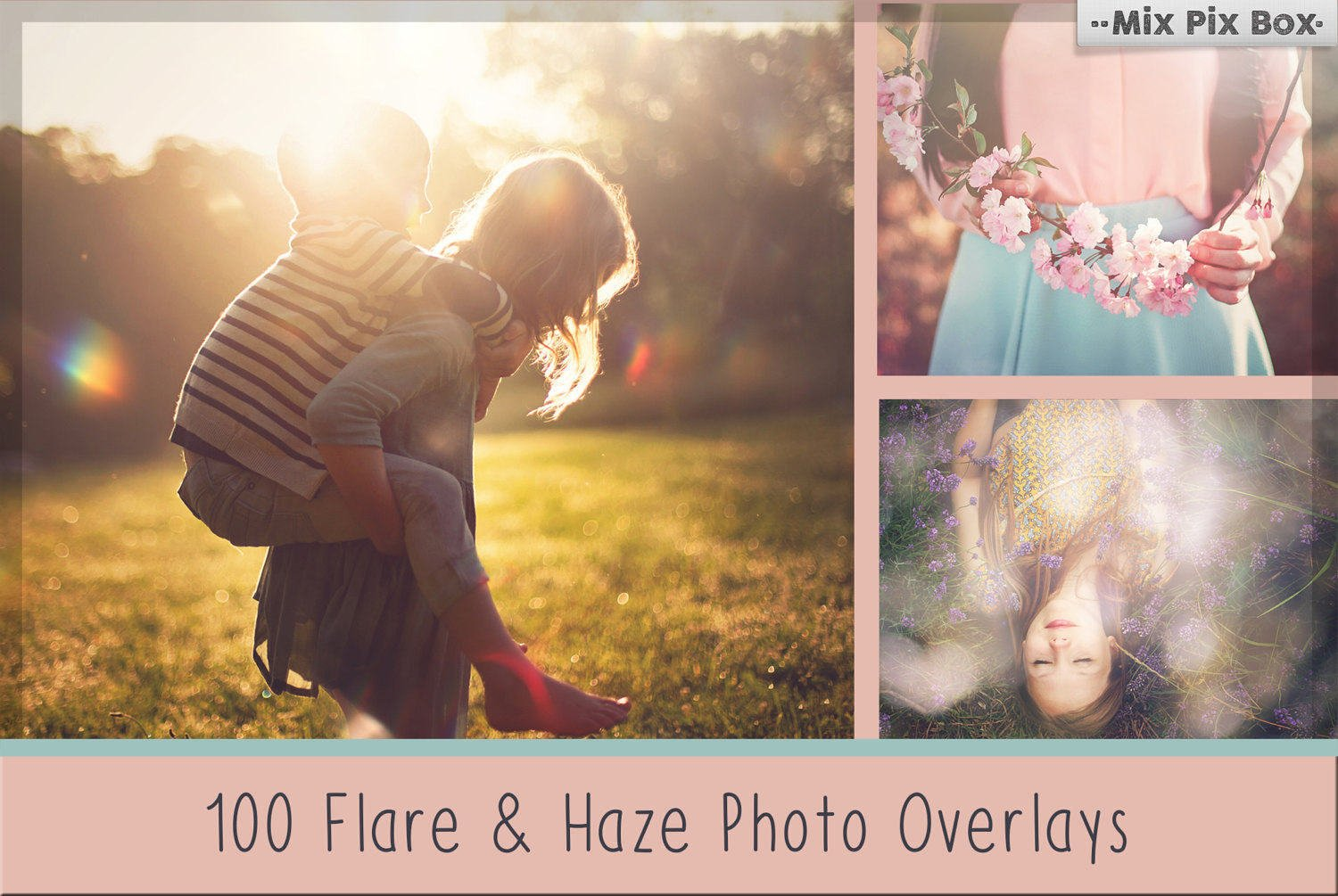 Sunlight Flare and Haze Photo Overlays