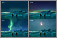 100 Night Sky Overlay