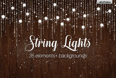 String Lights v.3 Clipart
