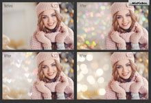 100 Bokeh Lights Effect Photo Overlays