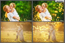 Romantic Heart Bokeh Overlays