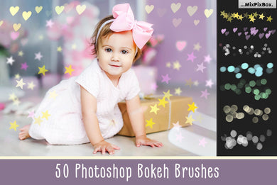 50 Photoshop Bokeh Brushes