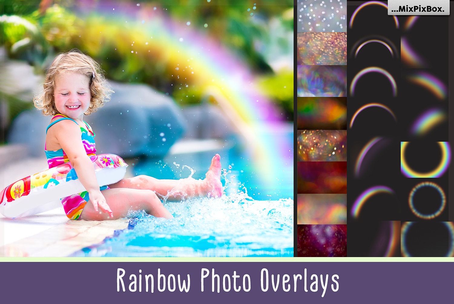 Rainbow Overlays