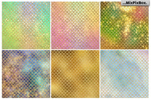 Mermaid Scale Backgrounds