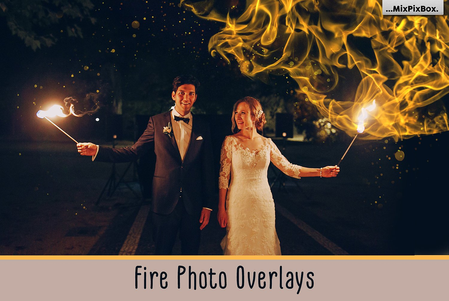 Fire Photoshop Overlays