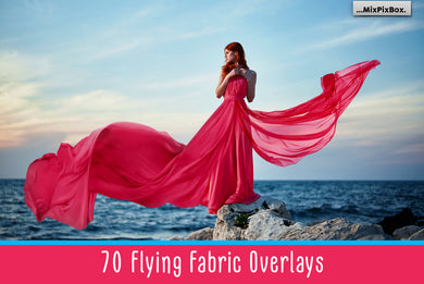 70 Flying Fabric Overlays