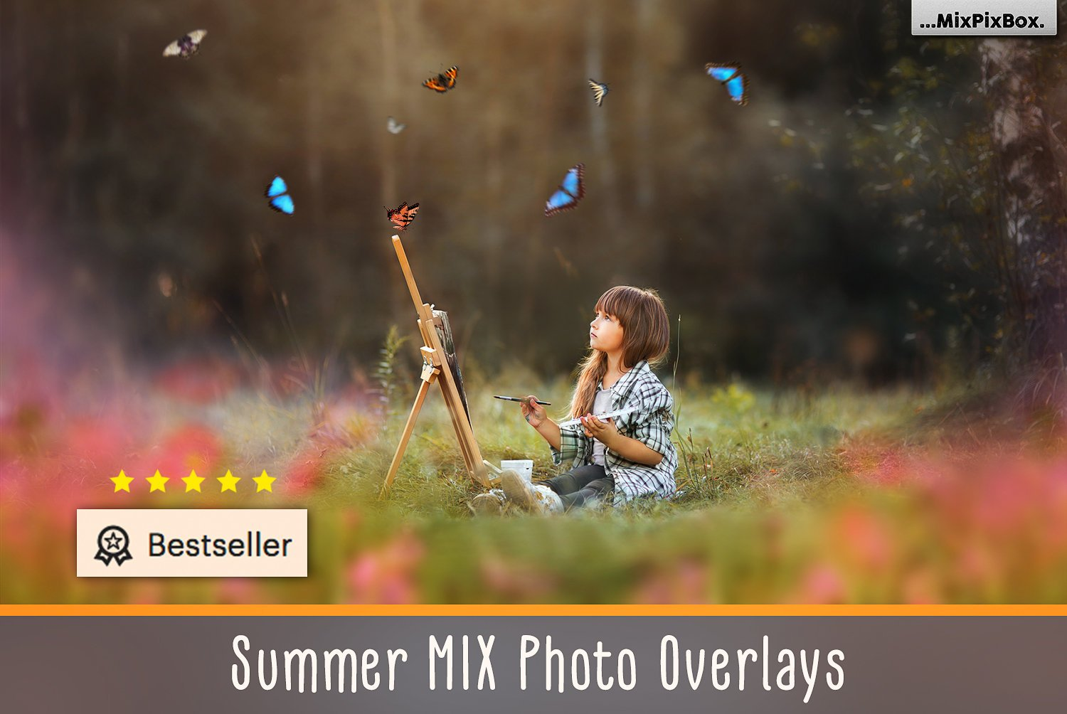 Summer Mix Pack Overlays