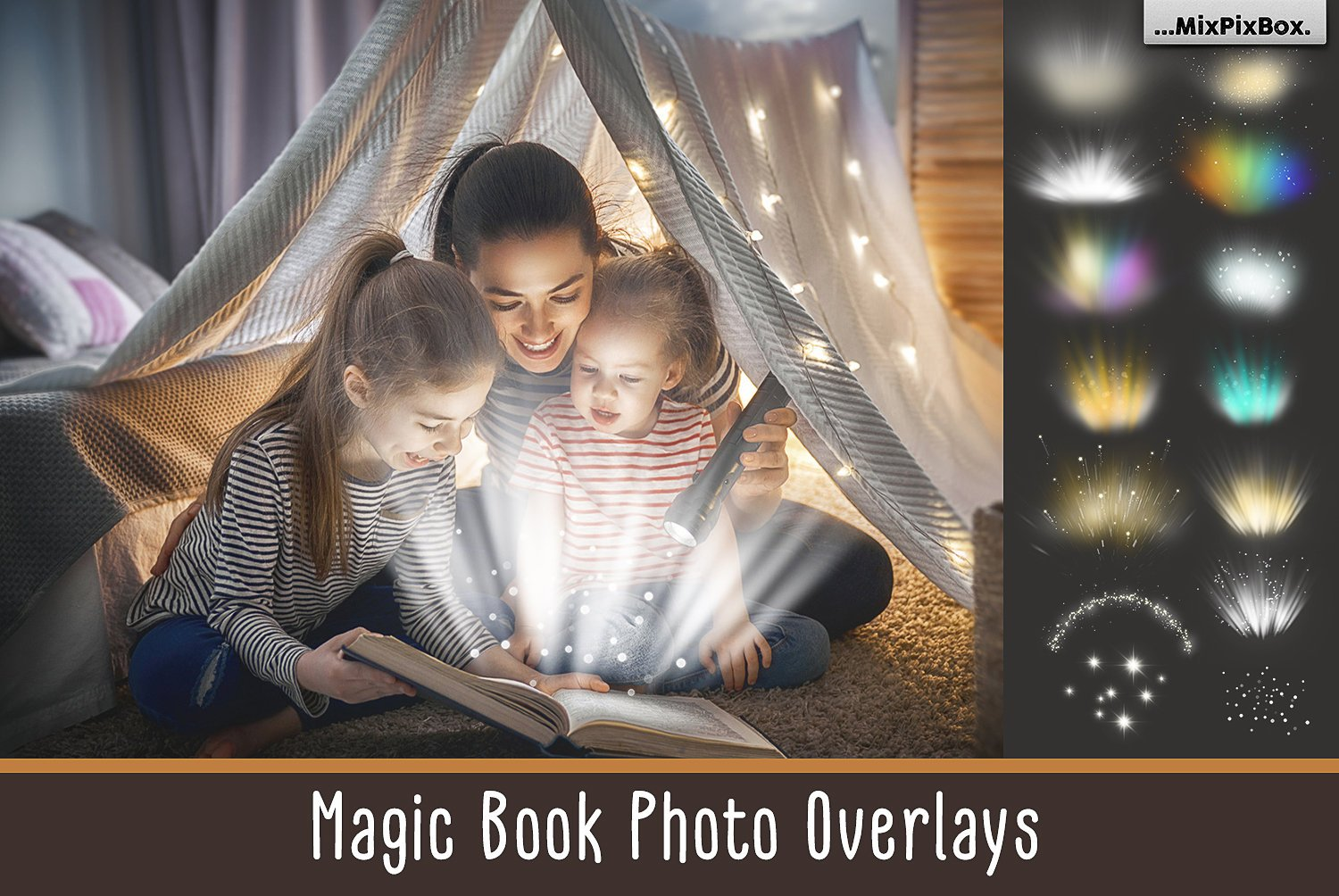 Magic Book Lights overlays